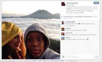 city to al sharpton's daughter: don't delete instagram hiking pictures